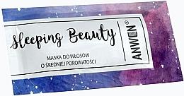 Parfumuri și produse cosmetice Mască de noapte pentru părul mediu poros - Anwen Masks Sleeping Beauty (mostră)