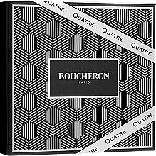 Parfumuri și produse cosmetice Boucheron Quatre Boucheron Pour Homme - Set (edt/100ml + ash/balm/100ml + sh/gel/100ml)