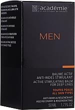 Parfumuri și produse cosmetice Cremă activă stimulatoare după ras - Academie Men Active Stimulating Balm for Deep Lines