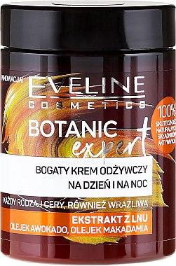 Cremă de față - Eveline Cosmetics Botanic Expert Len Day & Night Cream