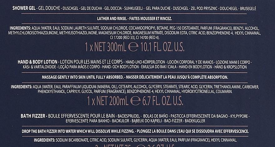 Set - Baylis & Harding Boudoire Rose (sh/gel/300ml + b/lot/200ml + bath/bomb/2x75g) — Imagine N6