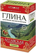 """Parfumuri și produse cosmetice Argilă cosmetică verde """"Altai"""" cu extract de trandafir - Artkolor"""