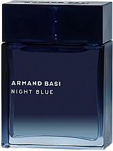 Parfumuri și produse cosmetice Armand Basi Night Blue - Apă de toaletă (tester fără capac)