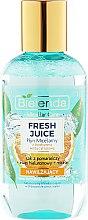 """Parfumuri și produse cosmetice Apă micelară hidratantă """"Portocală"""" pentru față - Bielenda Fresh Juice Micellar Water Orange"""