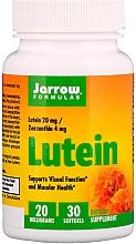 Parfumuri și produse cosmetice Suplimente nutritive - Jarrow Formulas Lutein 20mg