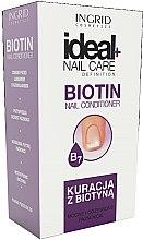 Parfumuri și produse cosmetice Balsam cu biotină pentru unghii - Ingrid Cosmetics Ideal Nail Care Definition
