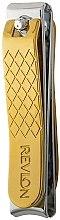 Parfumuri și produse cosmetice Unghieră pentru unghii - Revlon Gold Series Dual-Ended Nail Clip