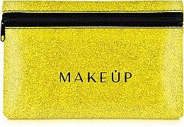 """Parfumuri și produse cosmetice Trusă cosmetică """"Glitter Pouch"""", 18x11 cm, aurie - MakeUp"""