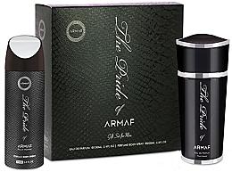 Parfumuri și produse cosmetice Armaf The Pride Pour Homme - Set (edp/100ml+deo/spray/200ml)