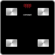 Parfumuri și produse cosmetice Cântar Smart, VO4001, negru - Concept Body Composition Smart Scale
