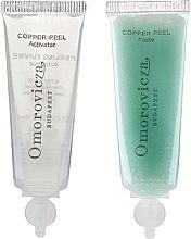 Parfumuri și produse cosmetice Peeling în două etape cu acid lactic și cupru - Omorovicza Copper Peel
