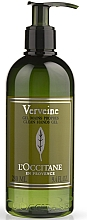 "Parfumuri și produse cosmetice Gel dezinfectant pentru mâini ""Verbena"" - L'Occitane Verbena Clean Hands Gel"