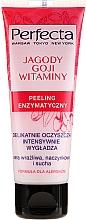 """Parfumuri și produse cosmetice Peeling enzimatic pentru față """"Goji și vitamine"""" - Perfecta"""