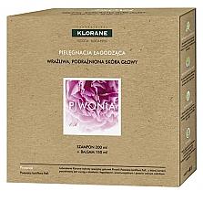 Parfumuri și produse cosmetice Set - Klorane Peony (shm/200ml + cond/150ml)