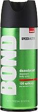 Parfumuri și produse cosmetice Deodorant - Bond Speedmaster Deo Spray