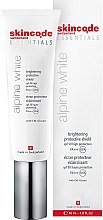 Parfumuri și produse cosmetice Cremă de față - Skincode Essentials Alpine White Brightening Protective Shield SPF50 PA+++