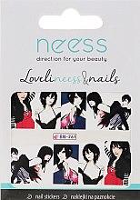 Parfumuri și produse cosmetice Abțibilduri pentru designul unghiilor, 3687, BN-261 - Neess