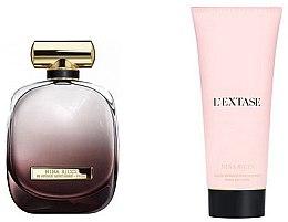 Parfumuri și produse cosmetice Nina Ricci L'Extase - Set (edp/80ml + bod/lot/100ml)