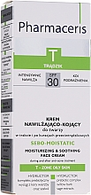 Parfumuri și produse cosmetice Увлажняющий крем для кожи лица после анти-акне терапии - Pharmaceris T Sebo-Moistatic Cream SPF30