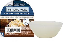 Parfumuri și produse cosmetice Ceară aromată - Yankee Candle Wax Melt Coconut Rice Cream