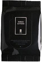 Parfumuri și produse cosmetice Șervețele demachiante pentru ochi - Serge Lutens Eye Makeup Remove