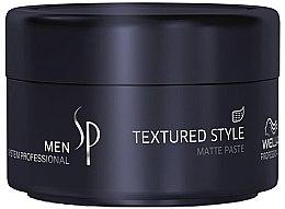 Parfumuri și produse cosmetice Pastă matifiantă pentru păr - Wella SP Men Textured Style Paste
