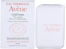 Parfumuri și produse cosmetice Săpun cremos nutritiv - Avene Peaux Seches Cold Cream Soap