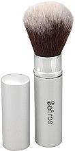 Parfumuri și produse cosmetice Pensulă machiaj - Sefiros Silver Retractable Brush