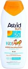 Parfumuri și produse cosmetice Lapte de corp, protecție solară pentru copii - Astrid Sun Kids Milk SPF 50