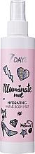 Parfumuri și produse cosmetice Mist hidratant pentru păr și corp - 7 Days Illuminate Me Hydrating Hair & Body Mist