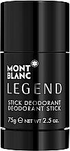 Parfumuri și produse cosmetice Montblanc Legend Stick - Deodorant