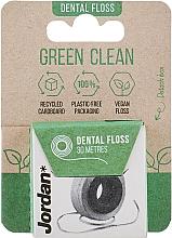 Parfumuri și produse cosmetice Ață dentară, 30 m - Jordan Green Clean Dental Floss