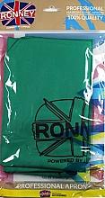 Parfumuri și produse cosmetice Pelerină pentru coafor, verde - Ronney Professional Hairdressing Apron Green