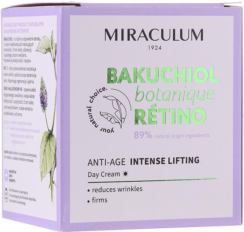 Cremă de zi pentru față - Miraculum Bakuchiol Botanique Retino Anti-Age Intensive Lifting — Imagine N1