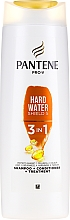 Parfumuri și produse cosmetice Șampon-balsam de păr - Pantene Pro-V Hard Water Shield 5 3in1 Shampoo