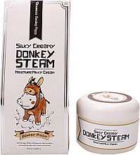 Духи, Парфюмерия, косметика Крем для лица - Elizavecca Silky Creamy Donkey Steam Moisture Milky Cream