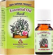 "Parfumuri și produse cosmetice Ulei esențial ""Busuioc"" - Bulgarian Rose Basil Essential Oil"