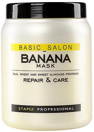 Маска для поврежденных волос - Stapiz Basic Salon Banana Mask