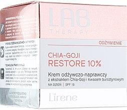 Parfumuri și produse cosmetice Cremă de zi pentru față - Lirene Lab Therapy Nourishment Chia-Goji Skin 10%