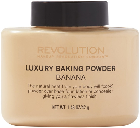 Pudră pulbere - Makeup Revolution Luxury Banana Powder