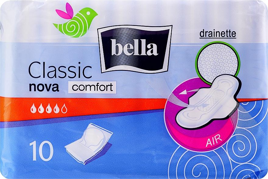 Absorbante Classic Nova Comfort Drainette, 10buc - Bella