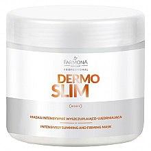 Parfumuri și produse cosmetice Mască pentru pierderea intensivă în greutate și întărire - Farmona Professional Dermo Slim Intensively Slimming And Firming Mask