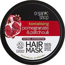 """Parfumuri și produse cosmetice Mască de păr """"Rodie și Paucouli"""" - Organic Shop Mask Pomegranate and Patchouli"""