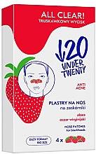 Parfumuri și produse cosmetice Benzi de nas pentru curățarea porilor - Under Twenty Anti! Acne All Clear! Nose Strip