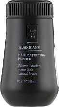 Духи, Парфюмерия, косметика Пудра для объема волос для мужчин - Lavish Care Hurricane Hair Mattifying Powder