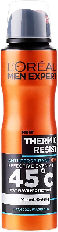 Deodorant antiperspirant pentru bărbați - L'Oreal Paris Men Expert Thermic Resist 48H