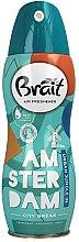 """Parfumuri și produse cosmetice Odorizant pentru casă """"City Break -Amsterdam"""" - Brait Dry Air"""