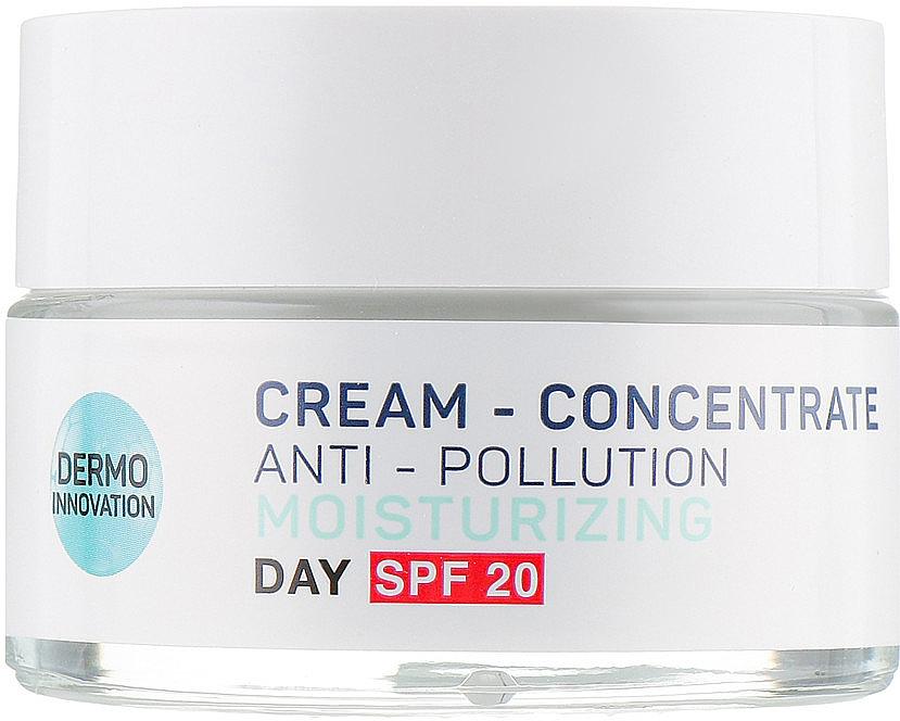 Cremă de zi pentru față - Vollare Multi-Active Detox C+E Cream-Concentrate
