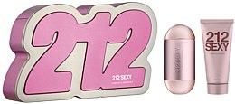 Parfumuri și produse cosmetice Carolina Herrera 212 Sexy edp - Set (edp 100ml + b/l 100ml)