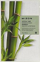 Parfumuri și produse cosmetice Mască de țesut cu extract de bambus - Mizon Joyful Time Essence Mask Bamboo